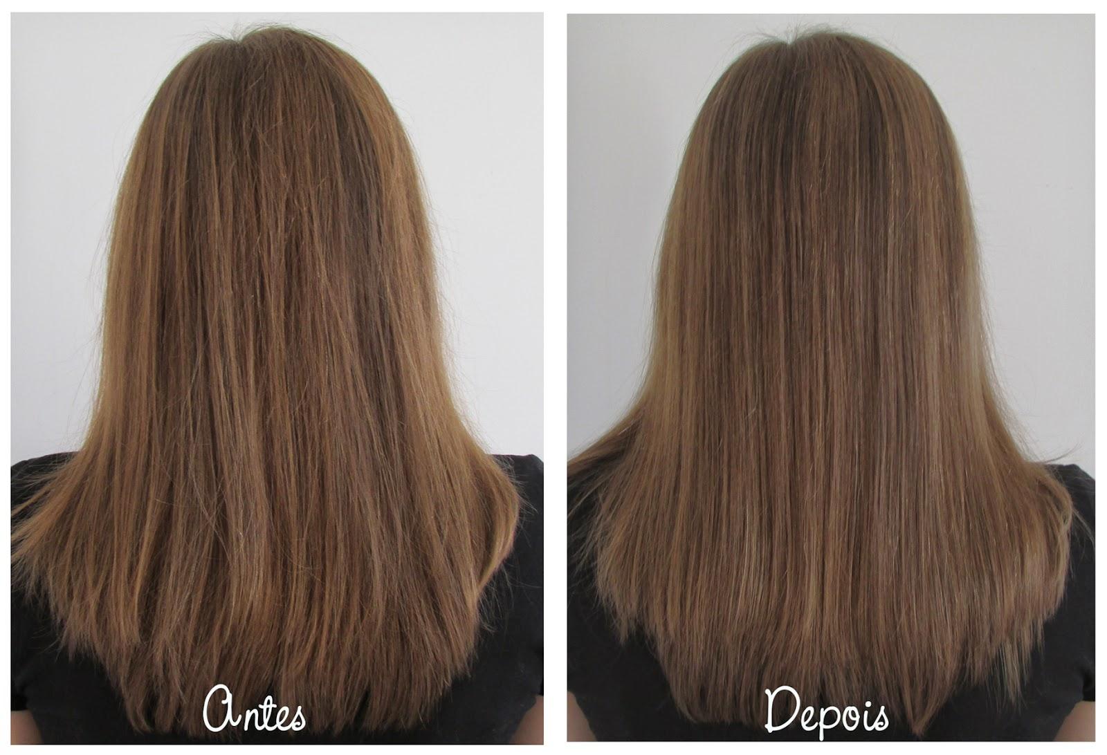 antes, depois, cabelo, Bio.Keratine, Néctar do Brasil
