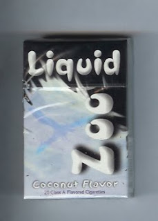 liquid zoo coconut flavored cigarettes
