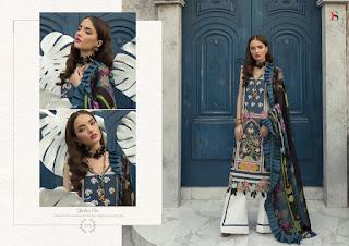 Deepsy Elan Silk vol 7 pakistani Suits wholesaler