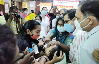 #JaunpurLive : बाल स्वास्थ्य पोषण माह का हुआ शुभारंभ
