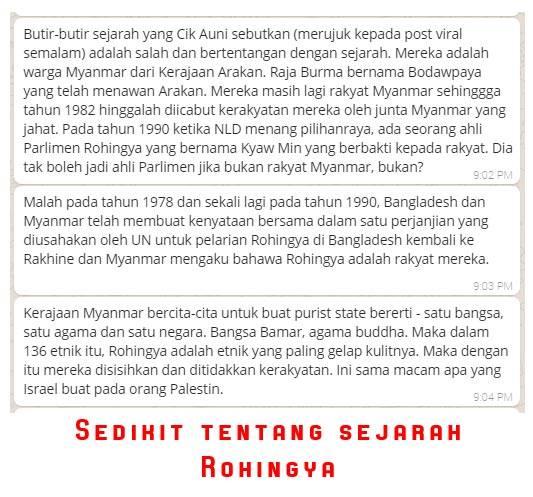 Sentimen Kebencian Terhadap Rohingya