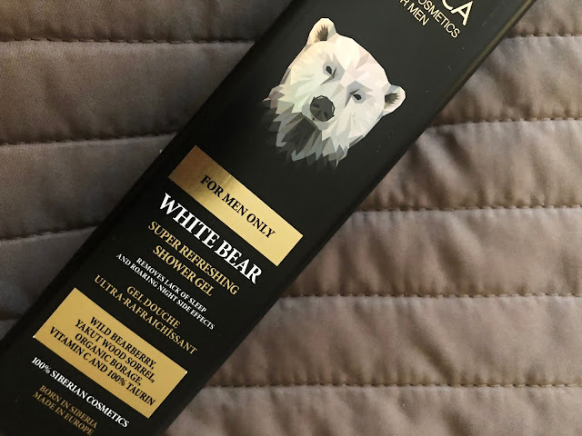 Natura Siberica for men only White Bear sprchový gél