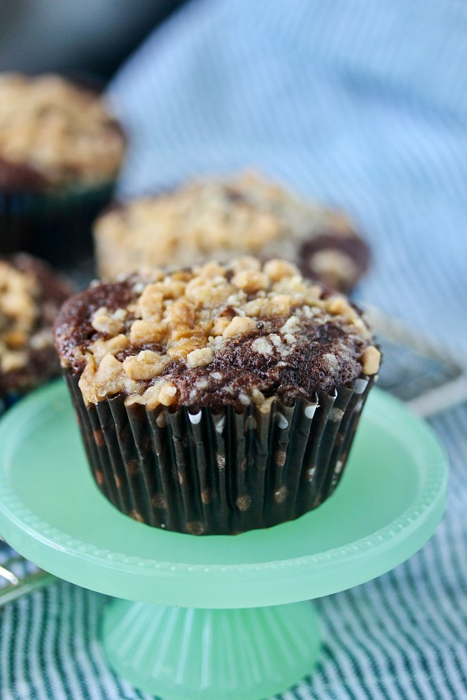 Toffee Mocha Muffins