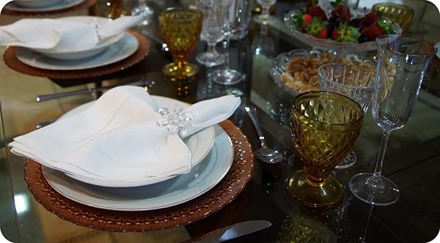 Montando a Mesa : Jantar de Ano Novo