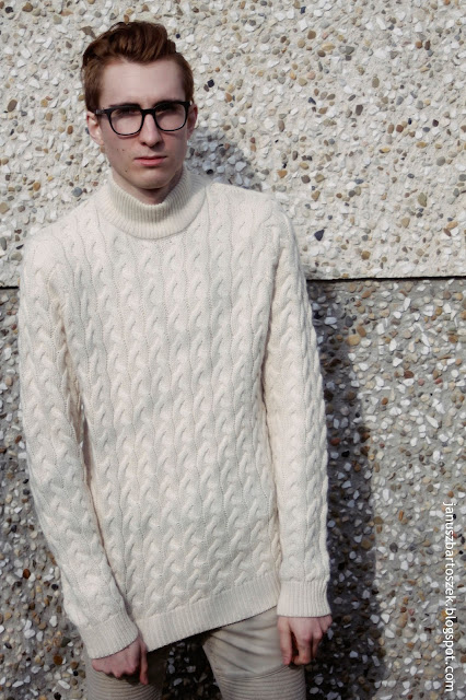 sweter w klimacie górskim