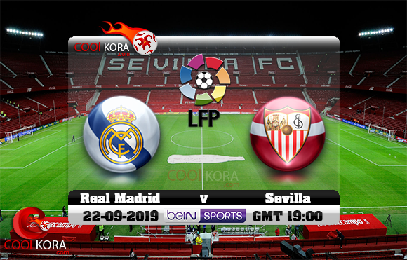 مشاهدة مباراة إشبيلية وريال مدريد اليوم 22-9-2019 في الدوري الأسباني