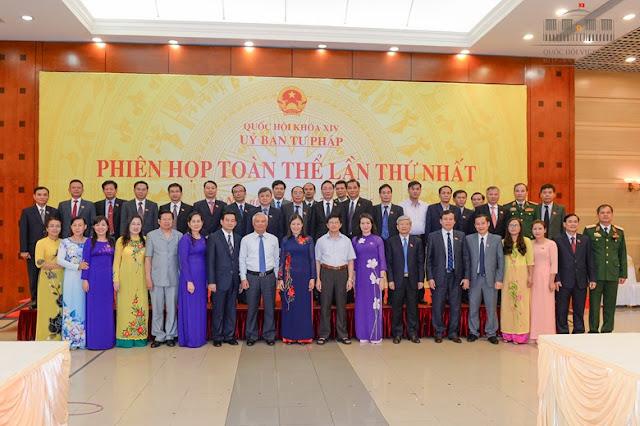 Ủy ban tư pháp Quốc hội khóa 14, Lê Thị Nga, Trương Trọng Nghĩa