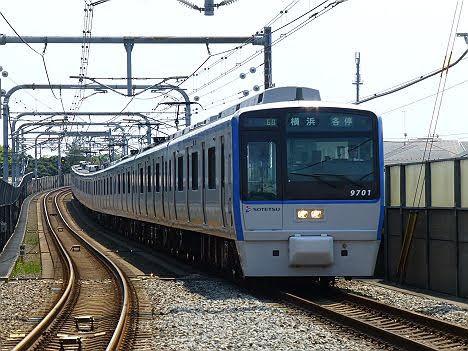 【運行終了!】9000系幕車の各停 横浜行き