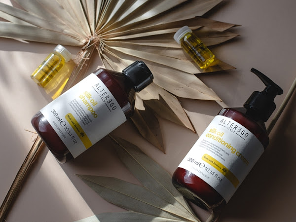 368. Recenzja: Alter Ego Silk Oil: szampon, odżywka i kuracja rozświetlająca bez spłukiwania|boscoshop.pl