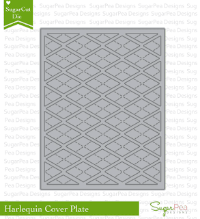SugarPea Designs - SugarCut Harlequin Cover Plate