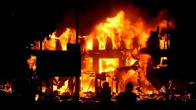 KogiElection: SDP Secretariat Reportedly Burnt Down In Lokoja By Unknown