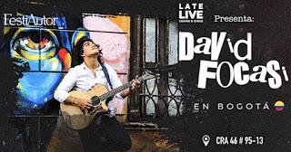 Concierto de David Focasi en Bogotá 2019