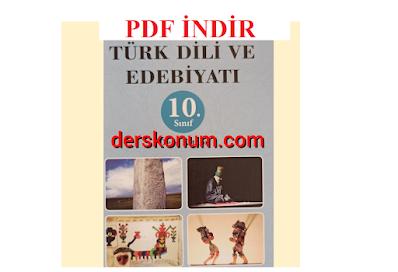 10.Sınıf Türk Dili ve Edebiyatı Biryay Yayınları Kitabı PDF İNDİR
