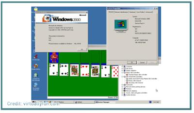 Perkembangan versi windows
