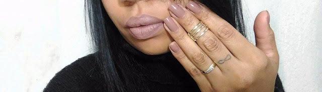 esmalte açucar mascavo vult - blog de esmaltes - batom combinando com esmalte