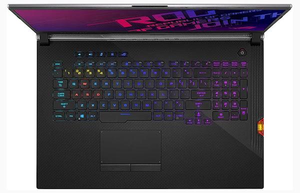 ASUS ROG Strix Scar III Keyboard