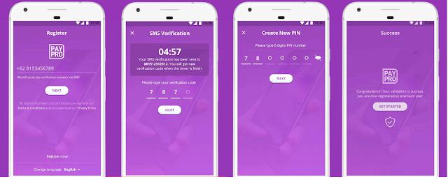 Cara Daftar PayPro Semua Operator Dari Aplikasi
