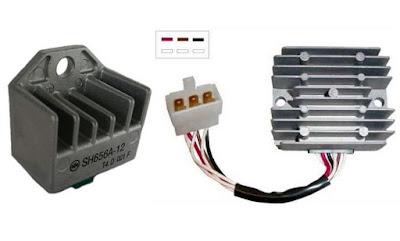Rangkaian Warna Kabel Kiprok Semua Motor Lengkap