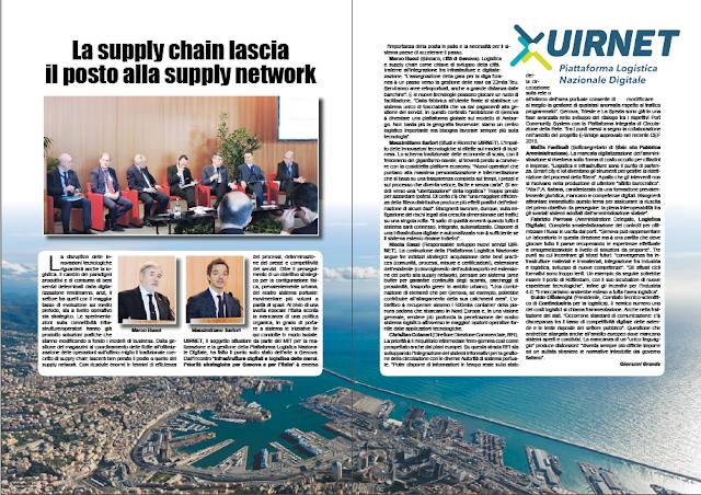MAGGIO 2019 PAG. 10 - La supply chain lascia il posto alla supply network