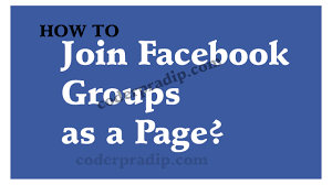 How to Join Facebook Group | How to Join a Facebook Group as a Page