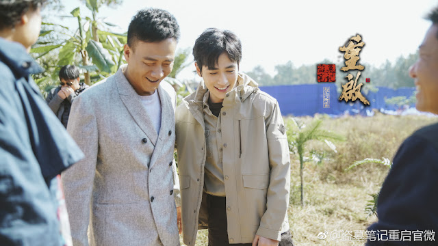 The Lost Tomb Reboot Filming Zhu Yilong Hu Jun