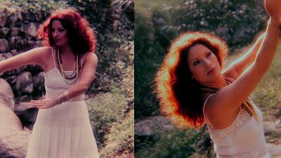 Cenas de arquivo da cantora Clara Nunes - Divulgação