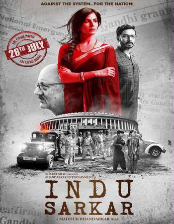 Poster Of Hindi Movie Indu Sarkar 2017 Full HD Movie Free Download 720P Watch Online