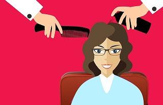 Bad hair care routine