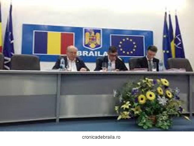În data de 9 decembrie 2019, ora 12.00, în Sala Mare a Palatului Administrativ, va avea loc şedinţa extraordinară a Consiliului Judeţean Brăila.