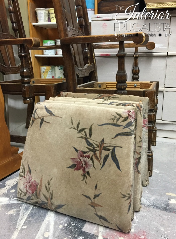Painted Dining Room Set Nasty Old Chair Cushions