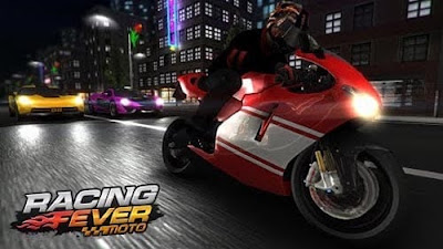 Racing Fever: Moto MOD APK Unlimited Money v1.3.6 for Android HACK Terbaru 2018