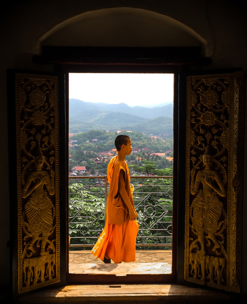 Biksu monk dari Myanmar