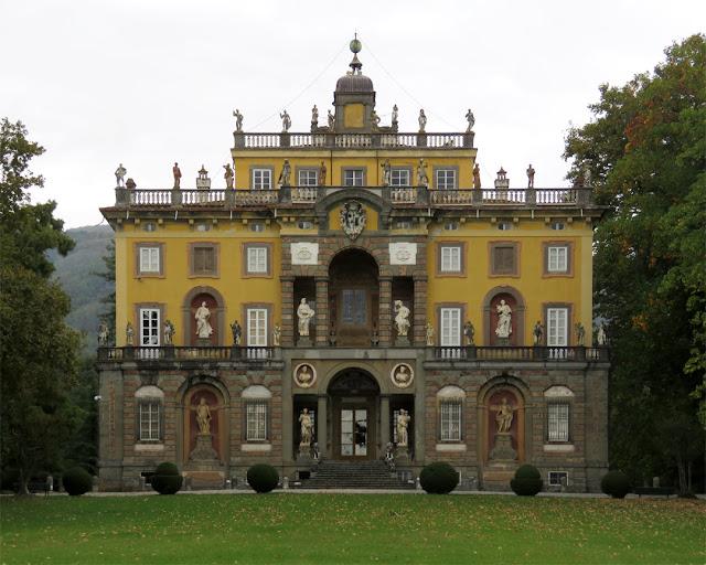 South facade of Villa Torrigiani, Camigliano, Capannori, Lucca