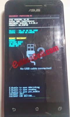 Droid Boot Asus Zenfone 4 T00I