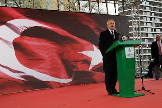 Kılıçtaroğlu'nun da Katıldığı Anakara Atatürk Kültür Merkezi'nin Temeli Törenle Atıldı