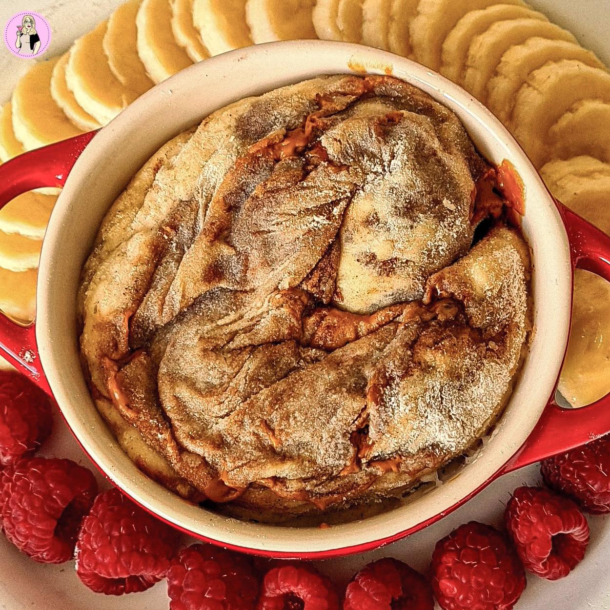 Biscoff Cinnamon Roll Mugcake Recipe | Slimming Recipe