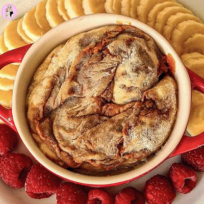 slimming worrld dessert Biscoff Cinnamon Roll Mugcake Recipe
