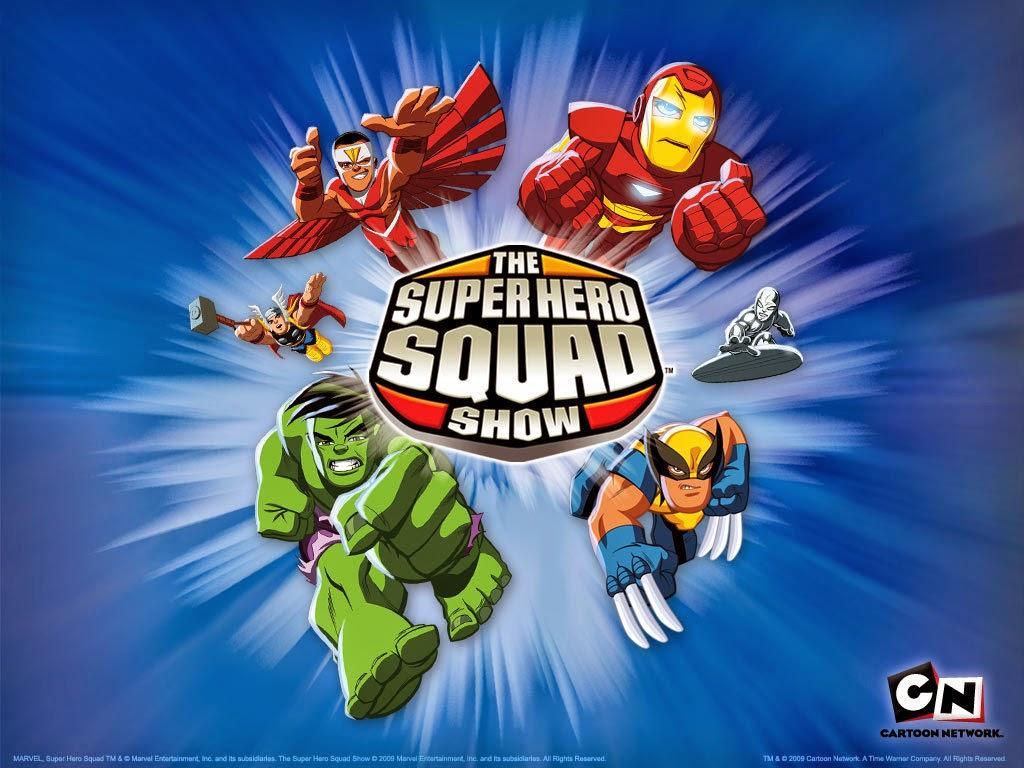 Etiquetas para Imprimir Gratis de Marvel Superhero Squad.