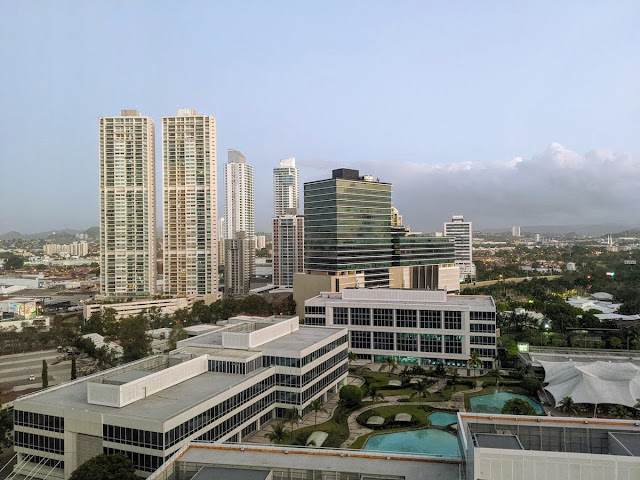 Panama City Layover: View from the Westin Panama Hotel