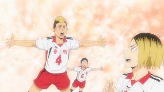 ハイキュー!! アニメ4期 音駒高校 福永招平 Fukunaga Shohei   Haikyuu NEKOMA   Hello Anime !