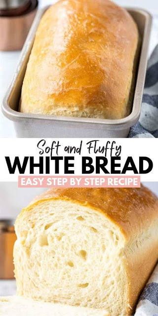 White Bread (So soft and easy to make!)