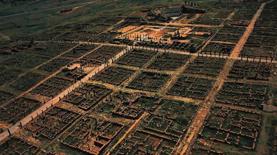 Kota Kuno Afrika Seperti Romawi