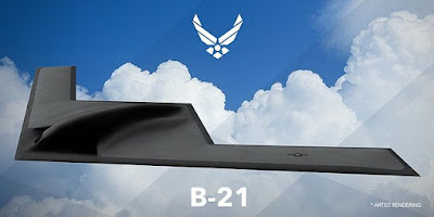 Artist Rendering B21 Bomber Air Force Official Ovni triangulares son aeronaves terrestres y que la fuerza aérea norteamericana ha estado ocultando o por lo menos así lo cree investigador