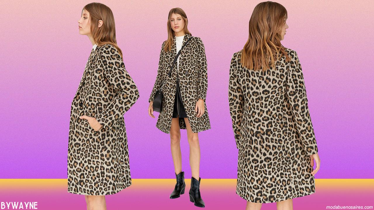 Moda otoño invierno 2019 animal print. │Abrigos, vestidos, pantalones y blusas otoño invierno 2019 animal print.