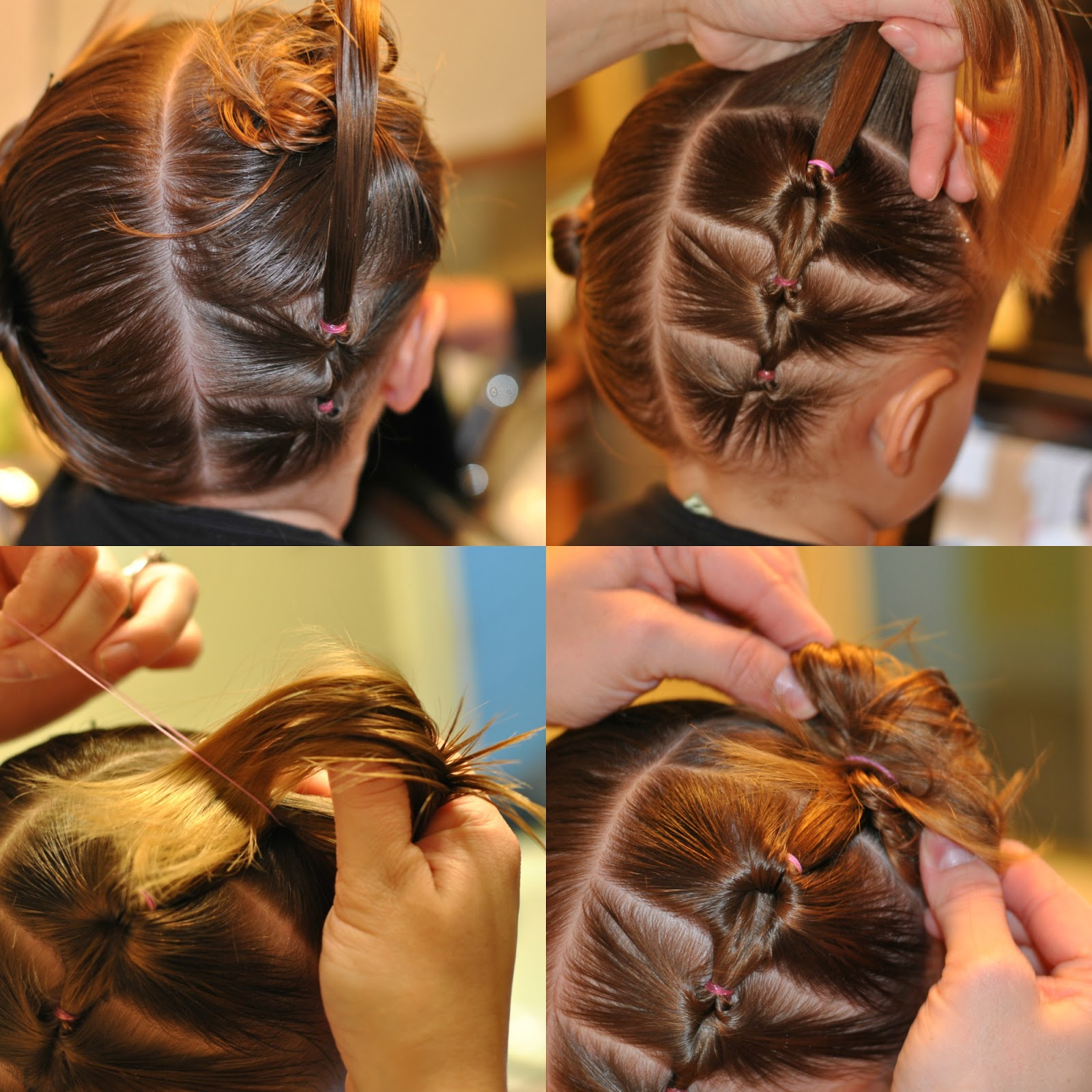How To Backward Twist Pigtails