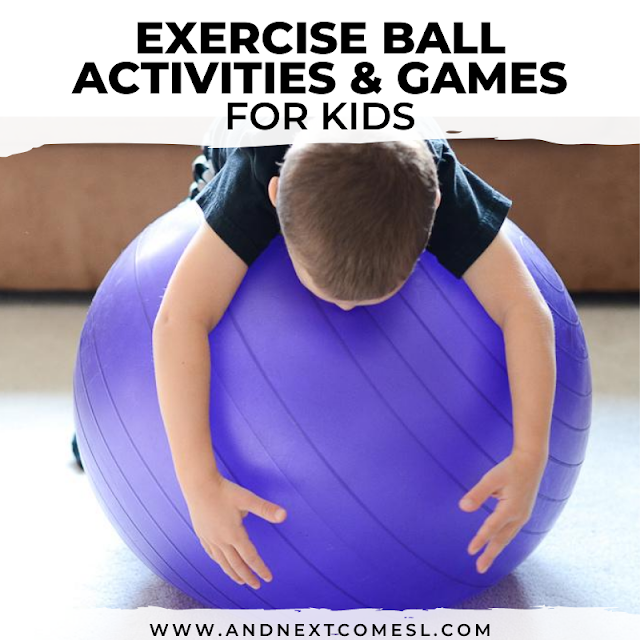 Ball exercises for kids