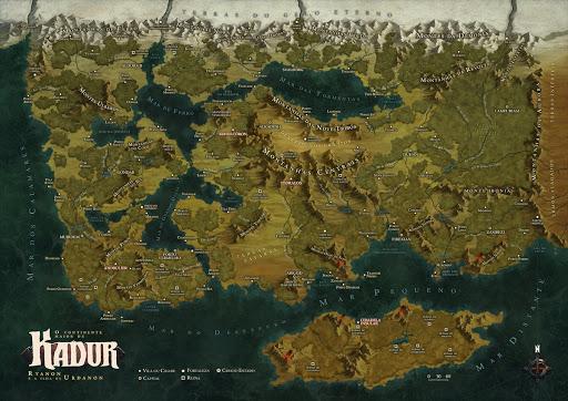Mapa do cenário Legião - a era da deseolação
