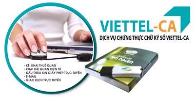 Viettel CA - Chữ ký số