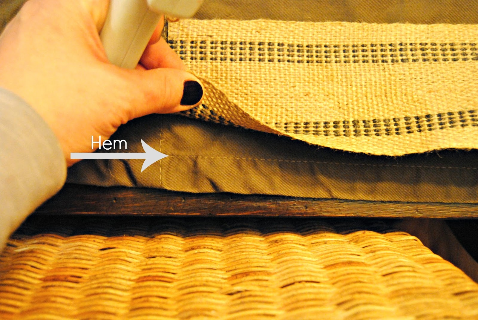 How To Embellished Ikea Curtain Panels The Painted