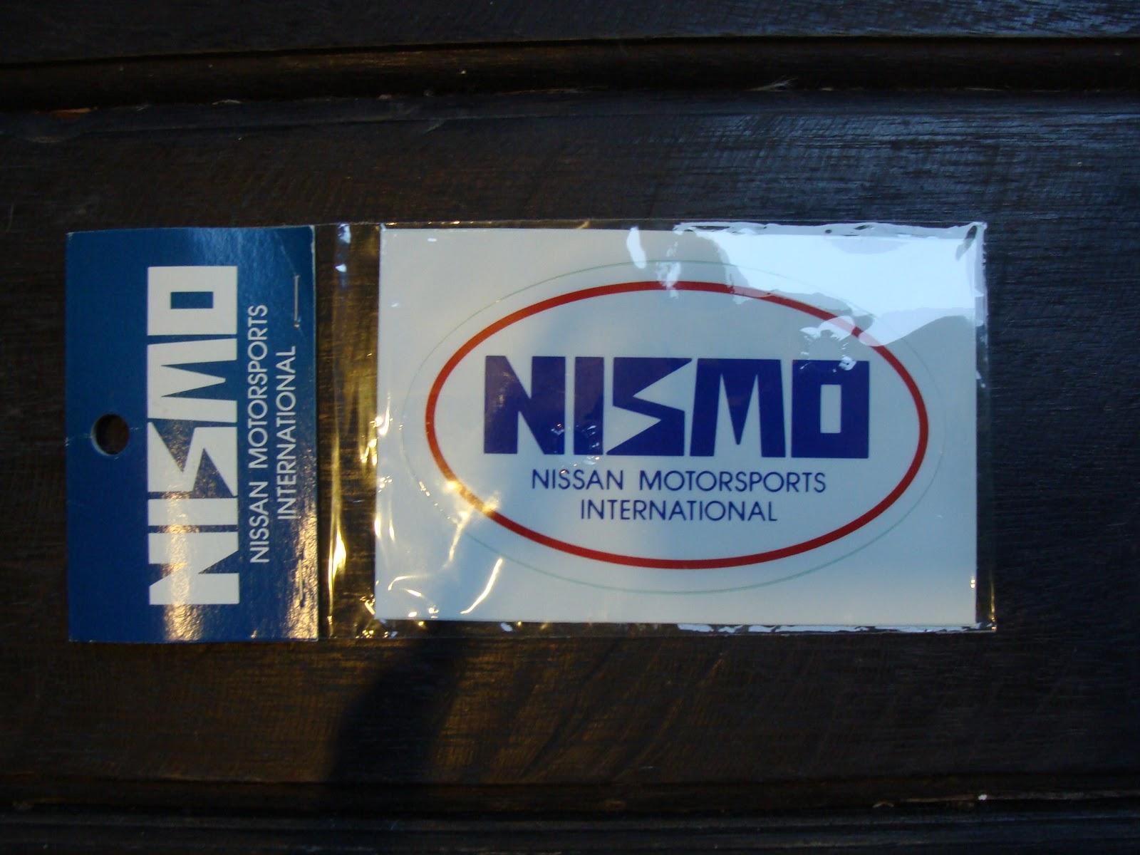 Jdmknickknacks Genuine Vintage Nismo Sticker